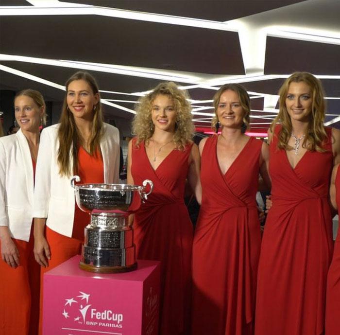 Fed Cup 2018 - večírek na lodi Grand Bohemia k zahájení FecCup 2018