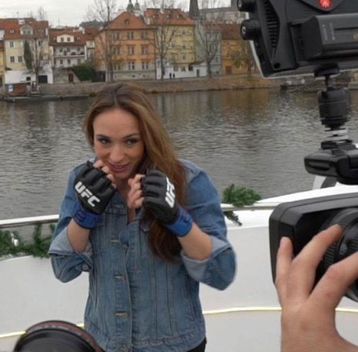 UFC - tisková konference na lodi Grand Bohemia